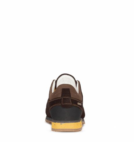 Ботинки треккинговые AKU Bellamont III Suede GTX цвет Dark Brown / Yellow