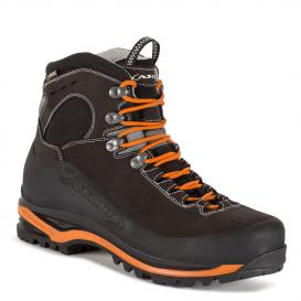 Ботинки горные AKU Superalp GTX цвет Anthracite / Orange