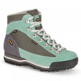 Ботинки Трек AKU WS Ultralight Micro GTX цвет Grey/Aquamarine