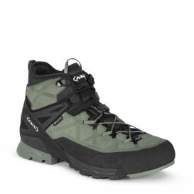 Ботинки горные AKU Rock DFS Mid GTX цвет Green